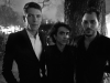 Thomas Delage, Siddhu Sudarshan, Jean-Baptiste Talbourdet-Napoleone at Elisabeth Dijan's Dinner for Association AEM -