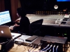 Siddhu Sudarshan of the Kama Sutra Lovers mixing at Question du Son Studio on a SSL 4048G+.