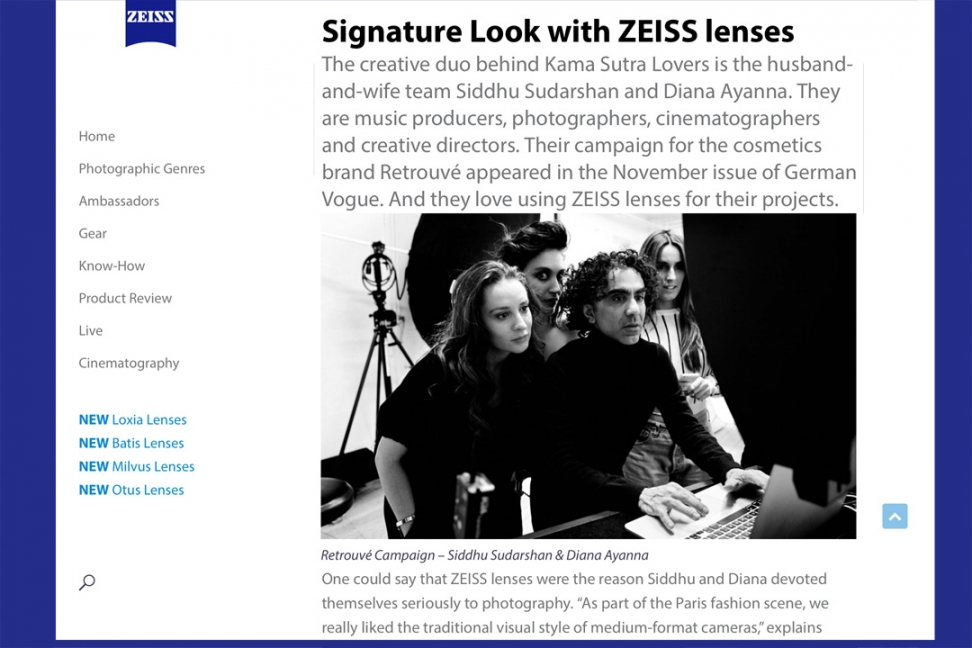 interview with kama sutra lovers by zeiss camera lenses