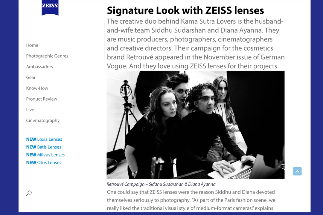 KSL Interview on ZEISS Lenspire Blog