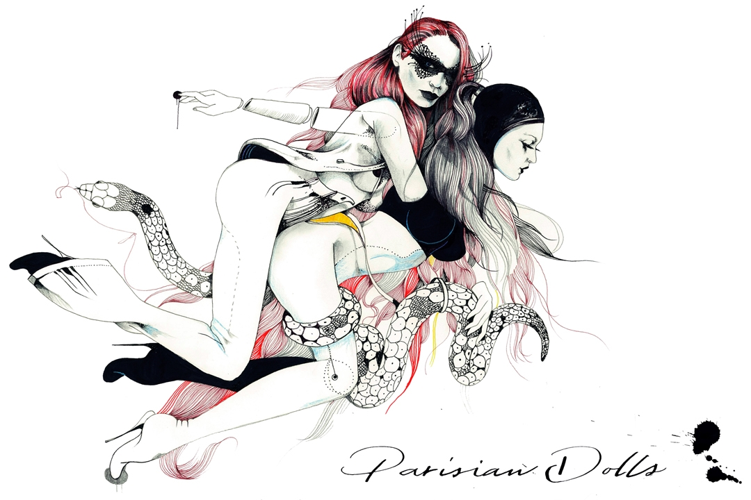 Parisian Dolls album cover
