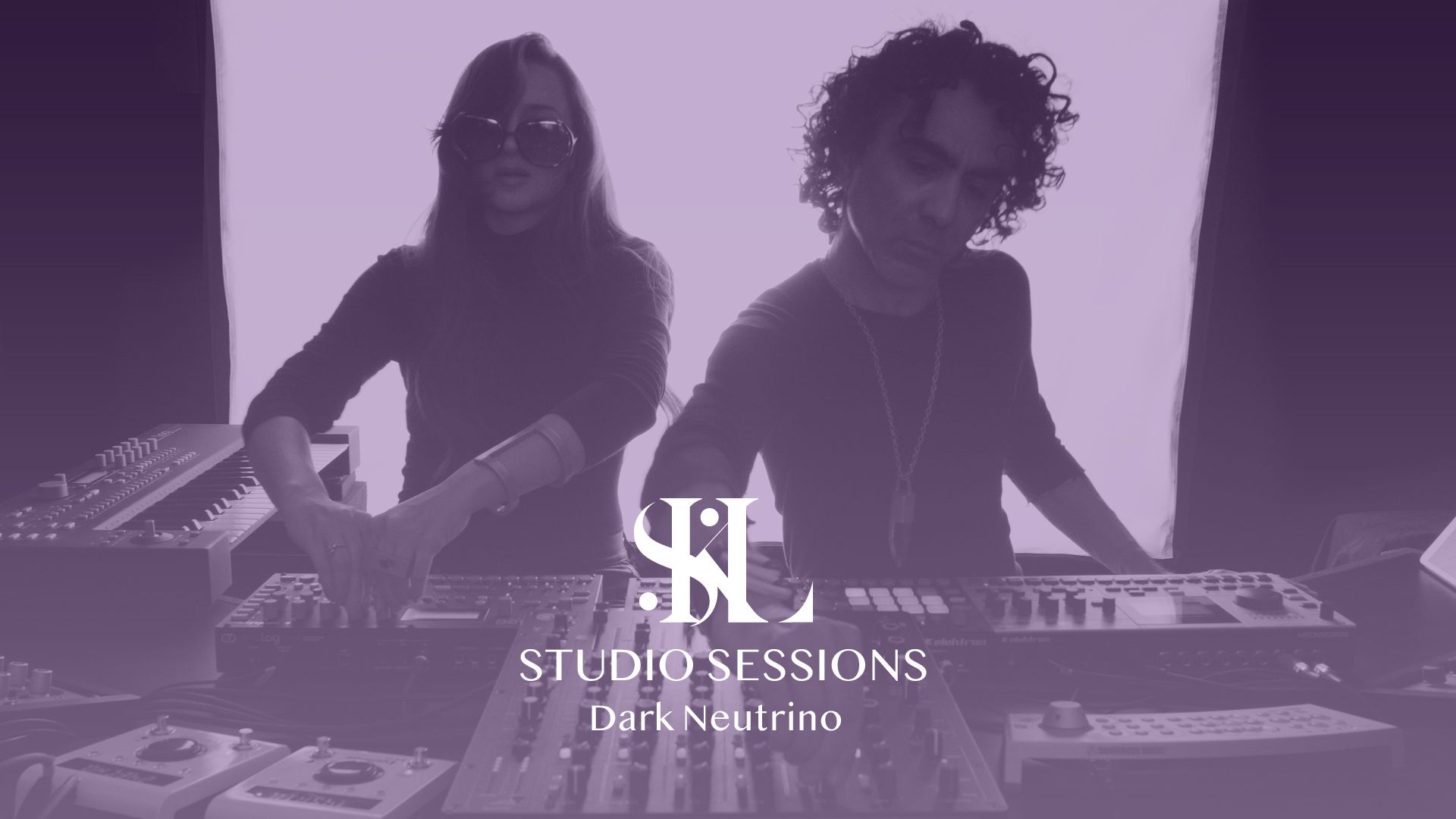 "Studio Session 01 - ""Dark Neutrino"" Elektron & Model1 Live Jam"