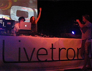 Kama Sutra Lovers Playing at Livetronik 2011